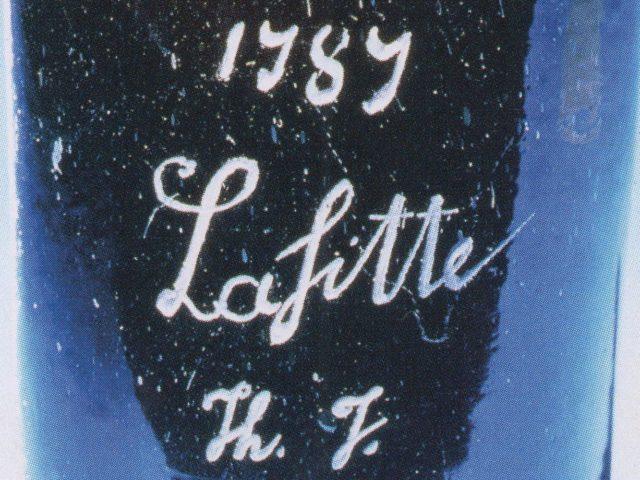 Najdroższa butelka wina sprzedana w XX wieku