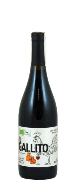 "Vino Ecologico Tinto El Gallito Merlot ""The cocky one"""